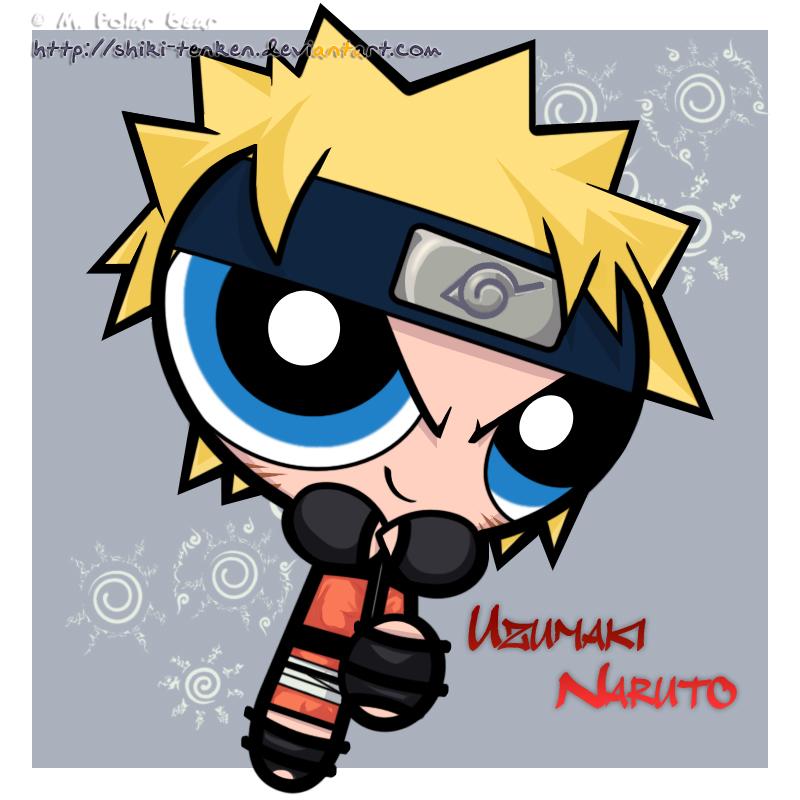 PPG: Naruto Uzumaki by Shiki-Tenken