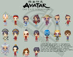 Avatar The Last Airbender Set
