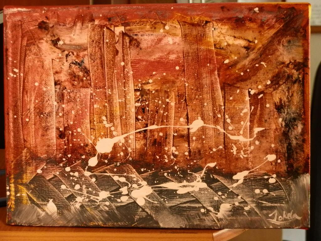 abstract city by ArttuJokela