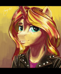 anthro Shimmer portrait thing