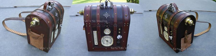 Steampunk backpack by keitayuki