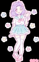 Sana - Mahou Shoujo normal form by mellowshy