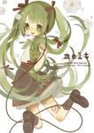 Melt (Vocaloid Illust Fanbook)