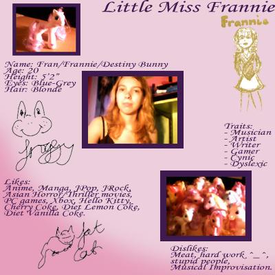 Frannie's Profile Picture