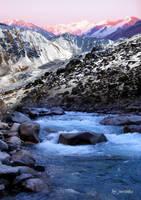 mountains by vorsinka