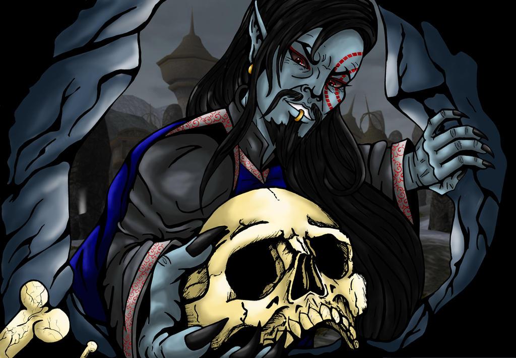 necromancer's madness by Zombilein