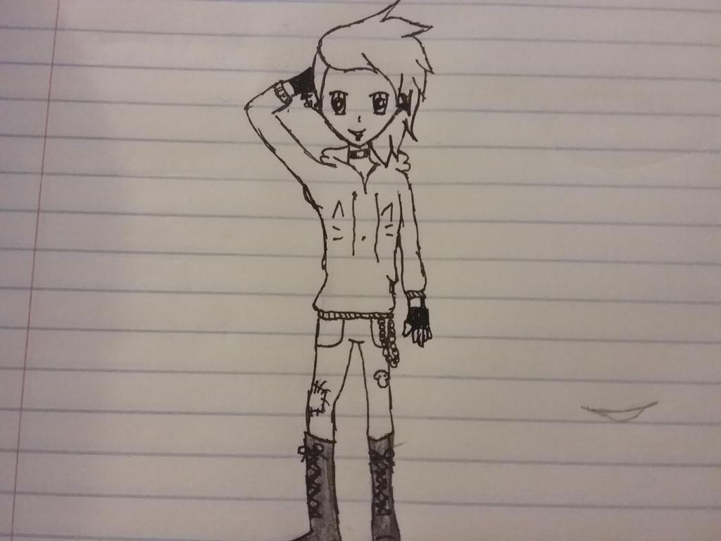 oc doodle by crazycat1425