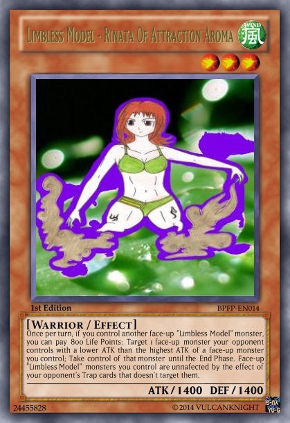 Limbless Model - Rinata Of Attraction Aroma (Card) by vulcanknight