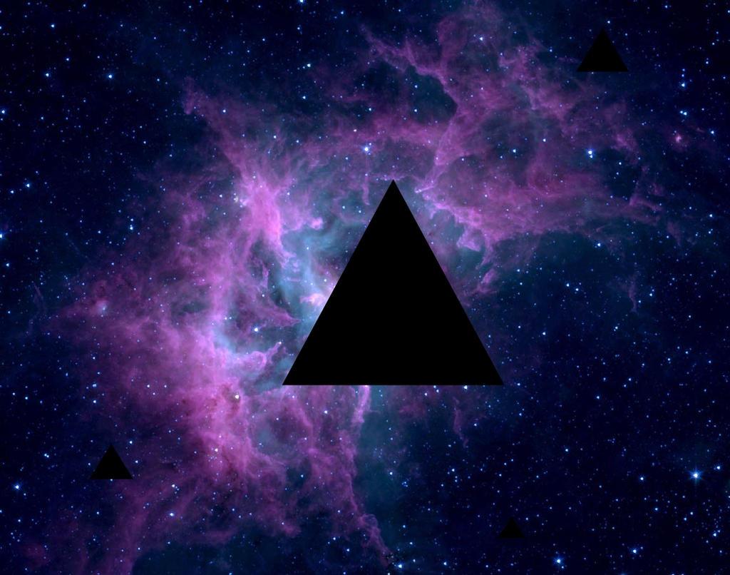 triangle nebula by fanboy360 on deviantart