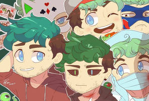 Youtubers : The Jackily by pacaora