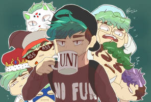 Youtubers: When your whole squad is you by pacaora