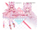 [CLOSED]Adoptable Auction||Collab with Dajinsrins