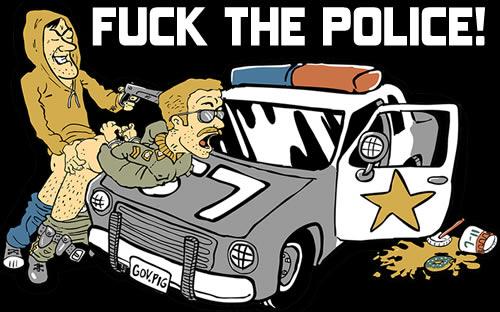 Фото fuck the police