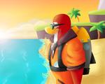 Jet pack guy~ Club Penguin Island