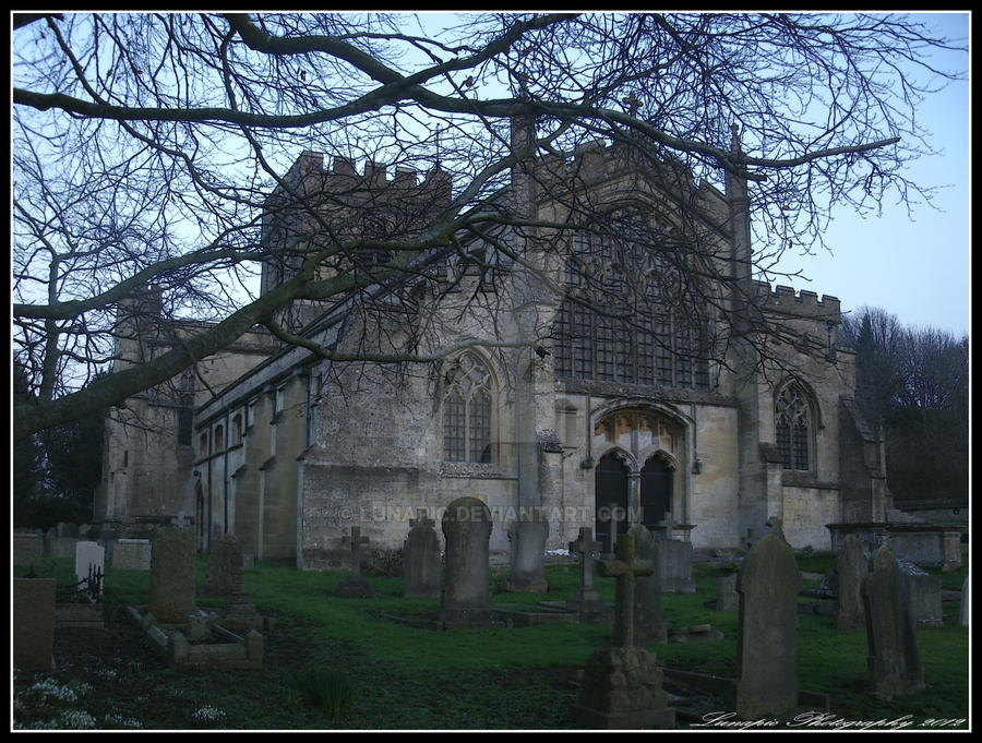 Edington Priory Church by Lunapic