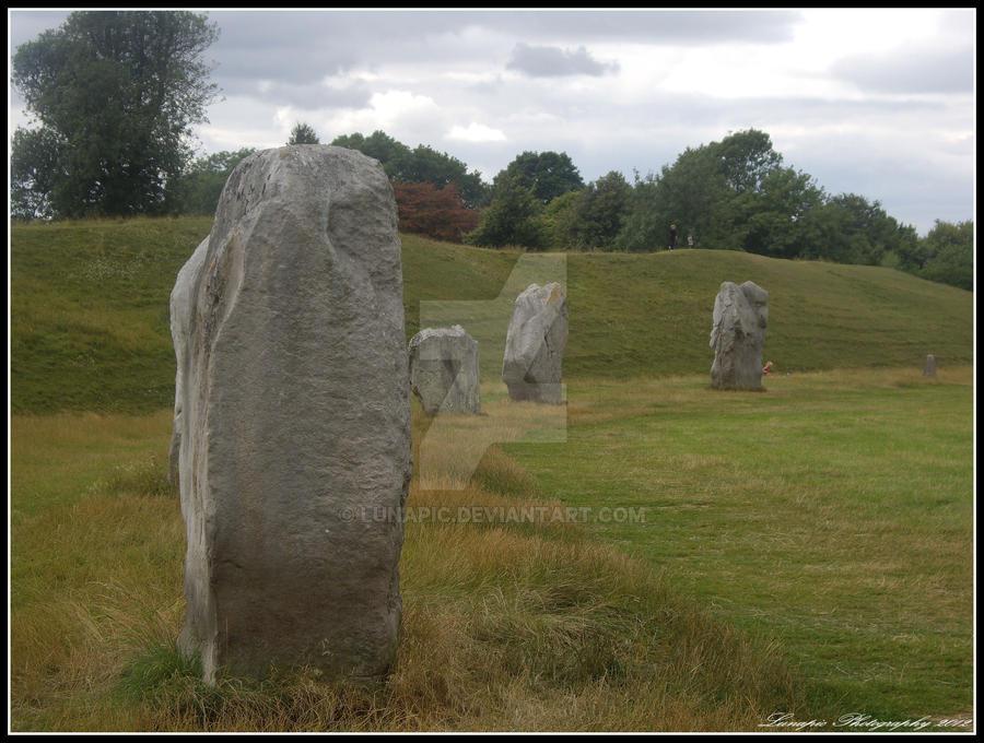 Avebury Stones by Lunapic