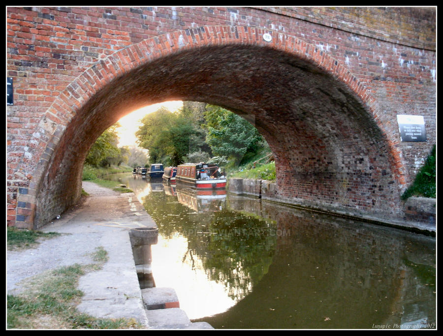 Pewsey Canal by Lunapic