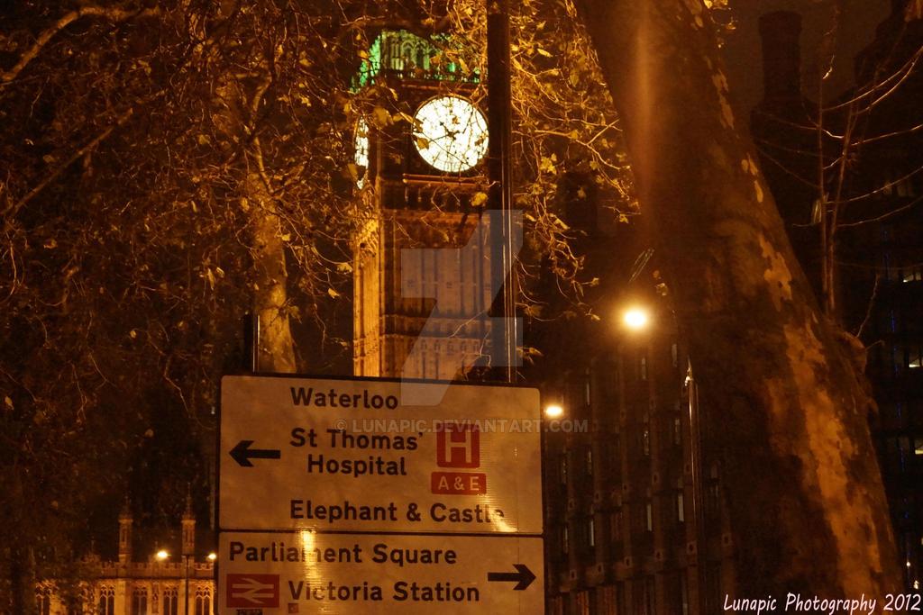Big Ben London by Lunapic