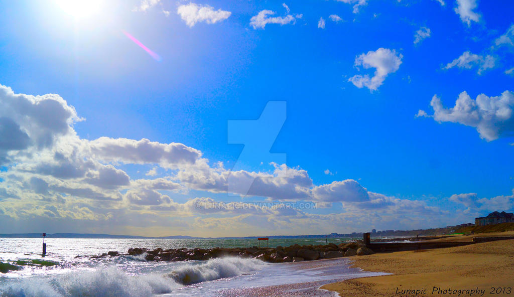 Southbourne Sun by Lunapic