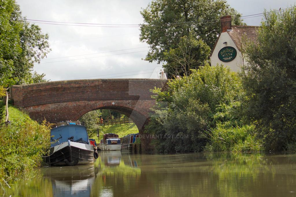 Barge Inn Bridge by Lunapic