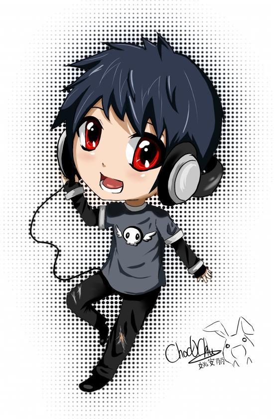 DJ o Red o by Choc0Chu