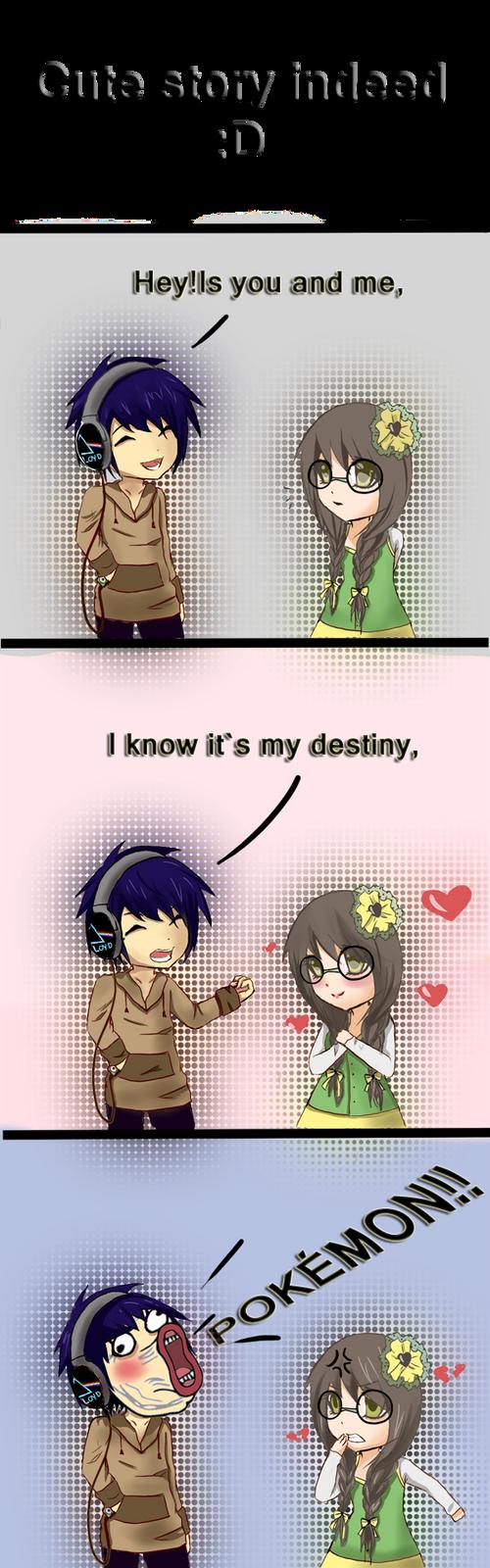 Cute story indeed by Choc0Chu
