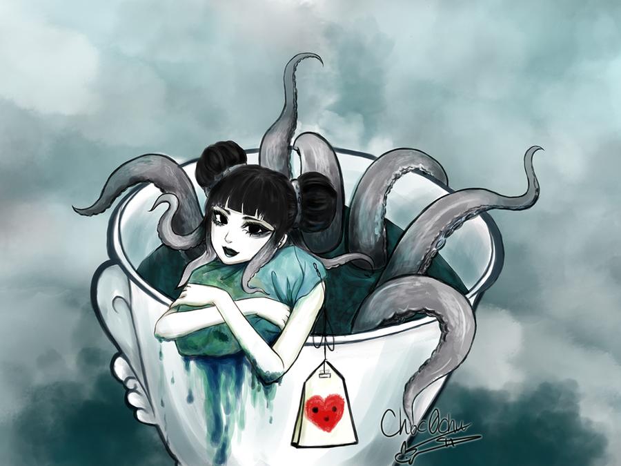 Would you like some tea? by Choc0Chu