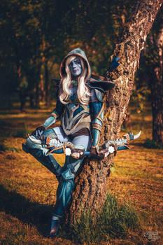 Drow Ranger cosplay