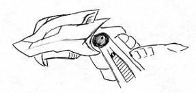 Lightning Saix head by Talec