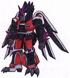 Gundamized Dart Pitohui