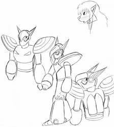 Jupiter and Na-keya sketches by Talec