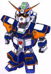 SDGF_Hazel Gundam by Talec