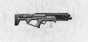 Werewolf Shotgun - Shaded by Nolo84