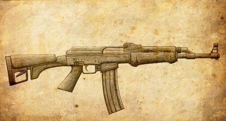 Mjolnir Rifle by Nolo84