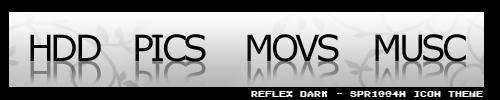 REFLEX DARK v1.0 - Icon Theme by Spr1gg4N