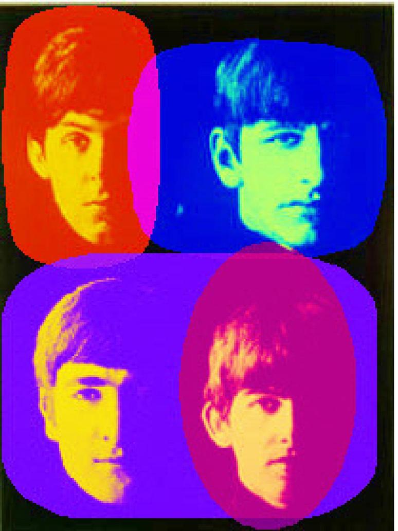 Beatles Pop Art by ZoulJiin