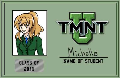 TMNT-U ID: Michelle Davis by amyanime