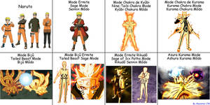 Controlled Forms of Naruto