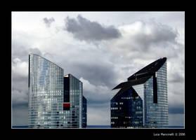 Glass Towers by Luke-ro
