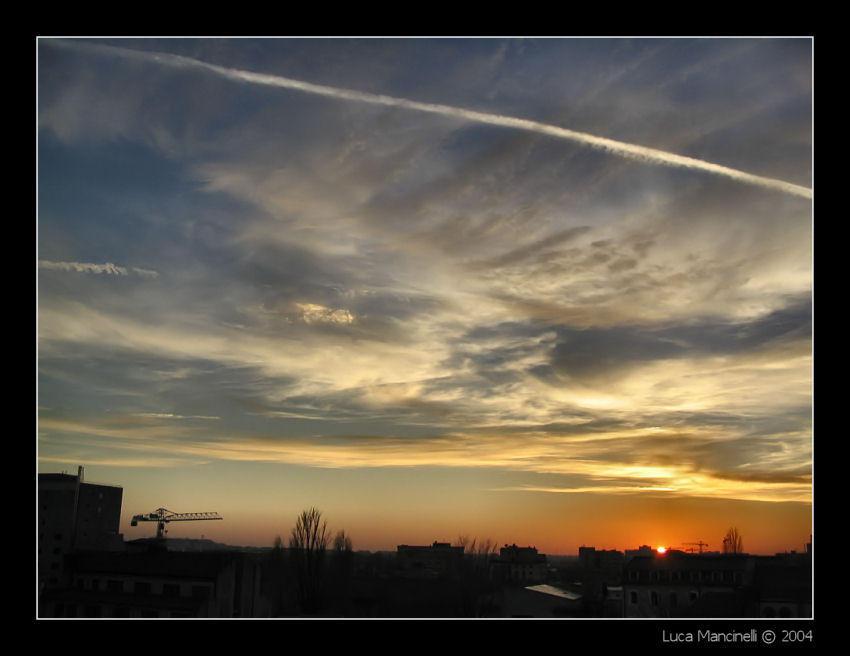 Sunset over Bucharest I by Luke-ro