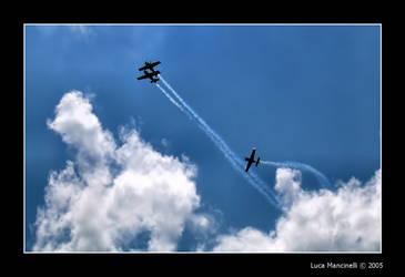 Acrobatic flight by Luke-ro