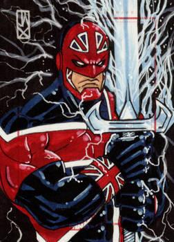 captain britain marvel 70th