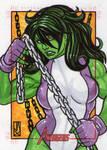 she hulk by john jackman avengers