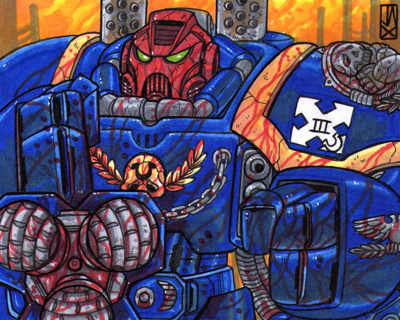 Centurion Ultramarine by johnjackman