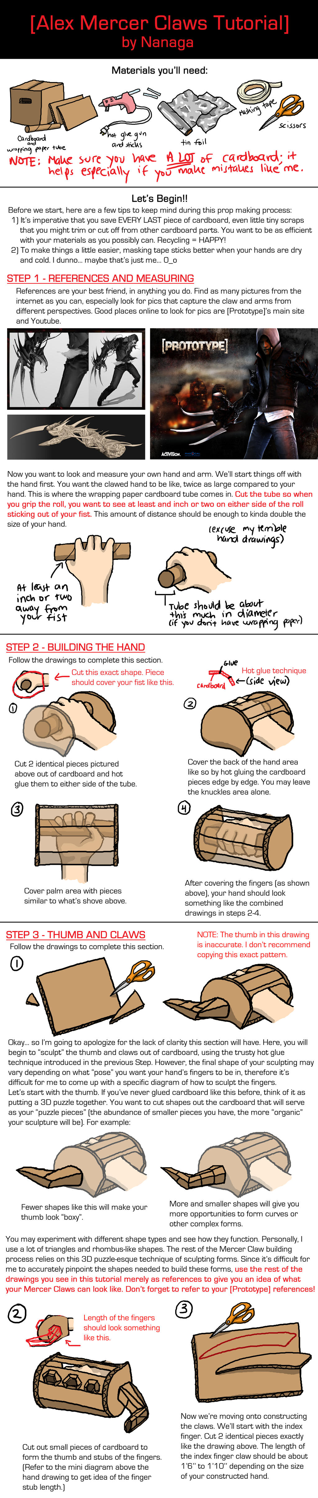Mercer claws tutorial part 1 by nanaga on deviantart for Mercer available loads