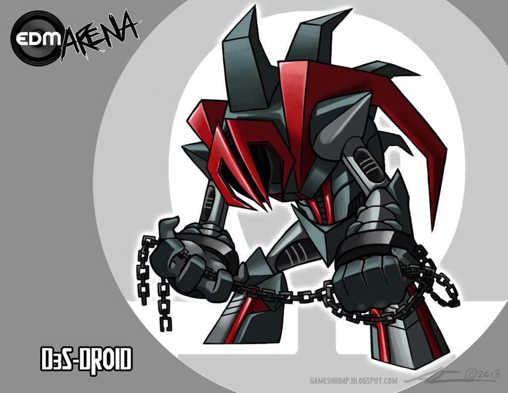 EDM Arena Challenger Revealed: D3S-DROID by Nanaga on DeviantArt