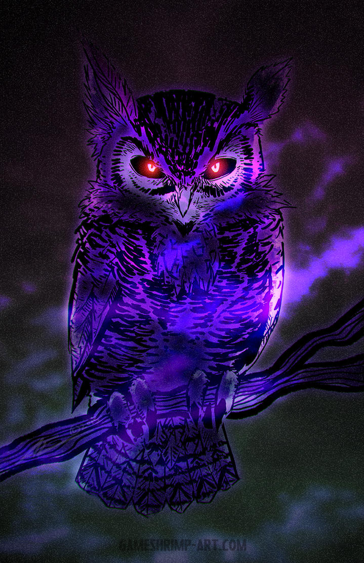Night owl by nanaga on deviantart for Night owl paint color