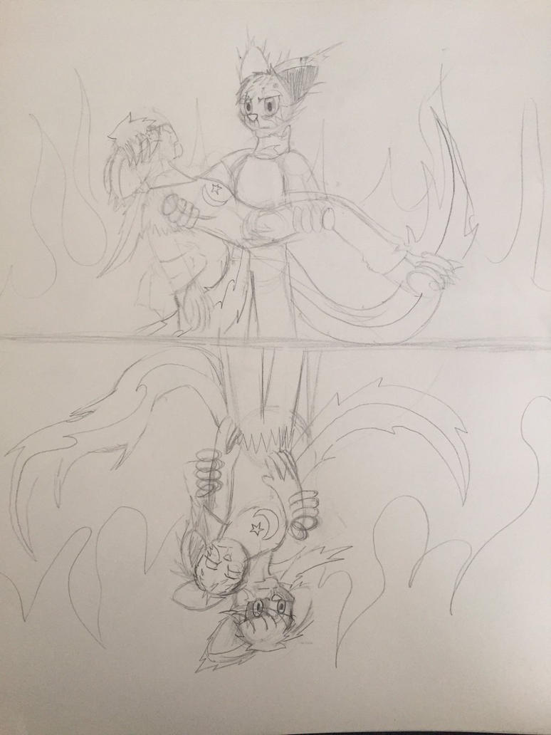 I'll Save You (Sketch) by LaFamilia8358