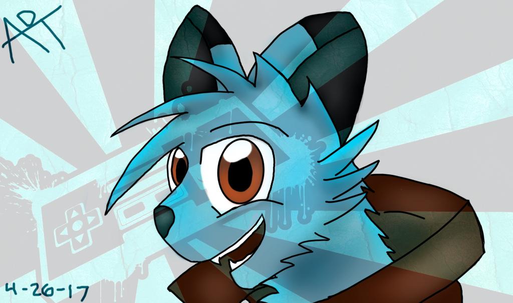 Chi the Fox (Request) by LaFamilia8358