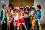 Mugiwara No Crew Cosplay One Piece 15 anniversary